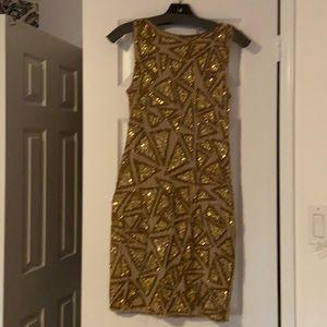 alice and olivia beaded dress